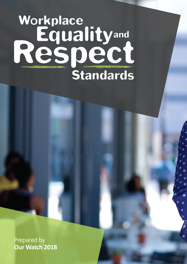 Cover of Workplace Equality and Respect Standards document