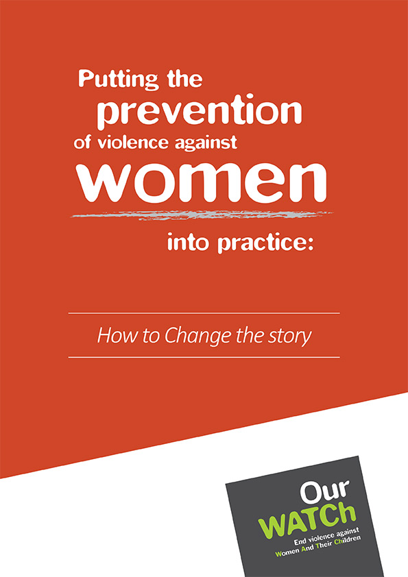 Cover of Putting the prevention of violence against women appendices.