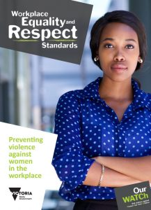Resource cover showing young woman in a blue shirt looking into the camera with her arms crossed.