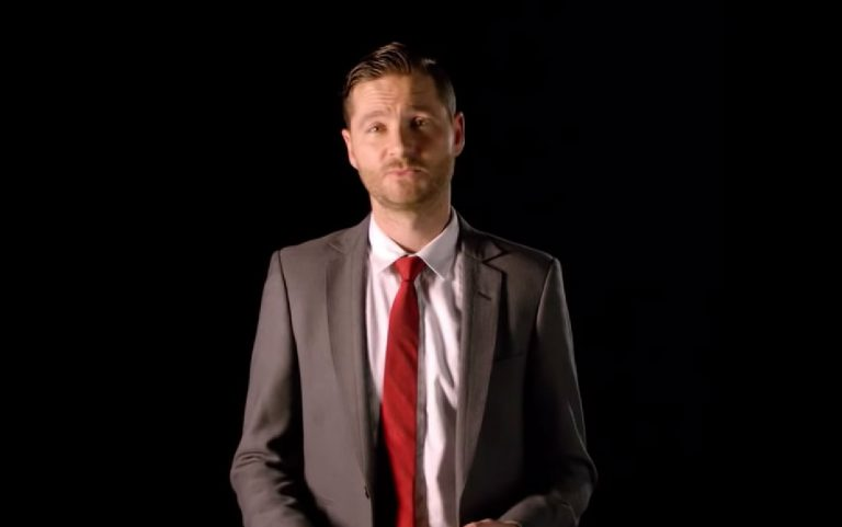 Screenshot of Charlie Pickering.