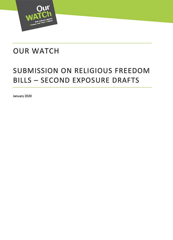 Cover of submission.